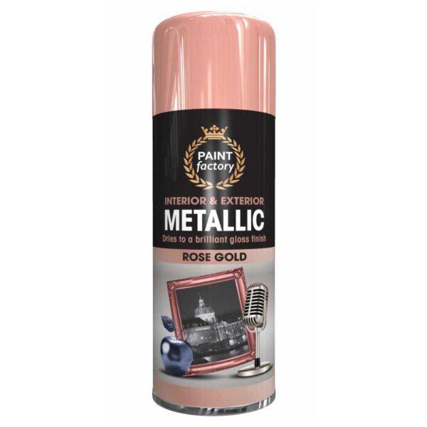 Metallic Rose Gold 400ml