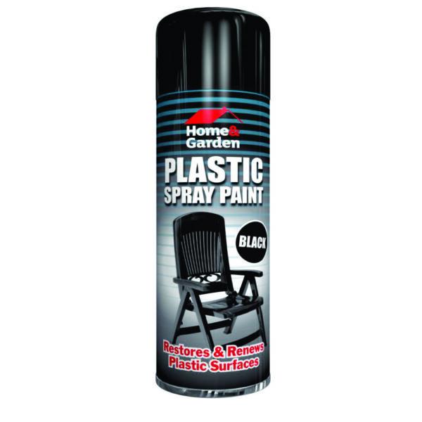 Plastic Black 300ml