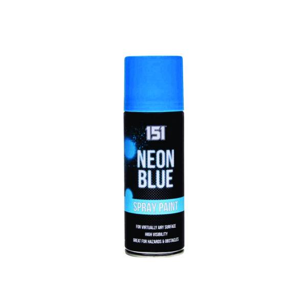 151 neon Blue